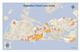 Repetitive Flood Loss Areas Map