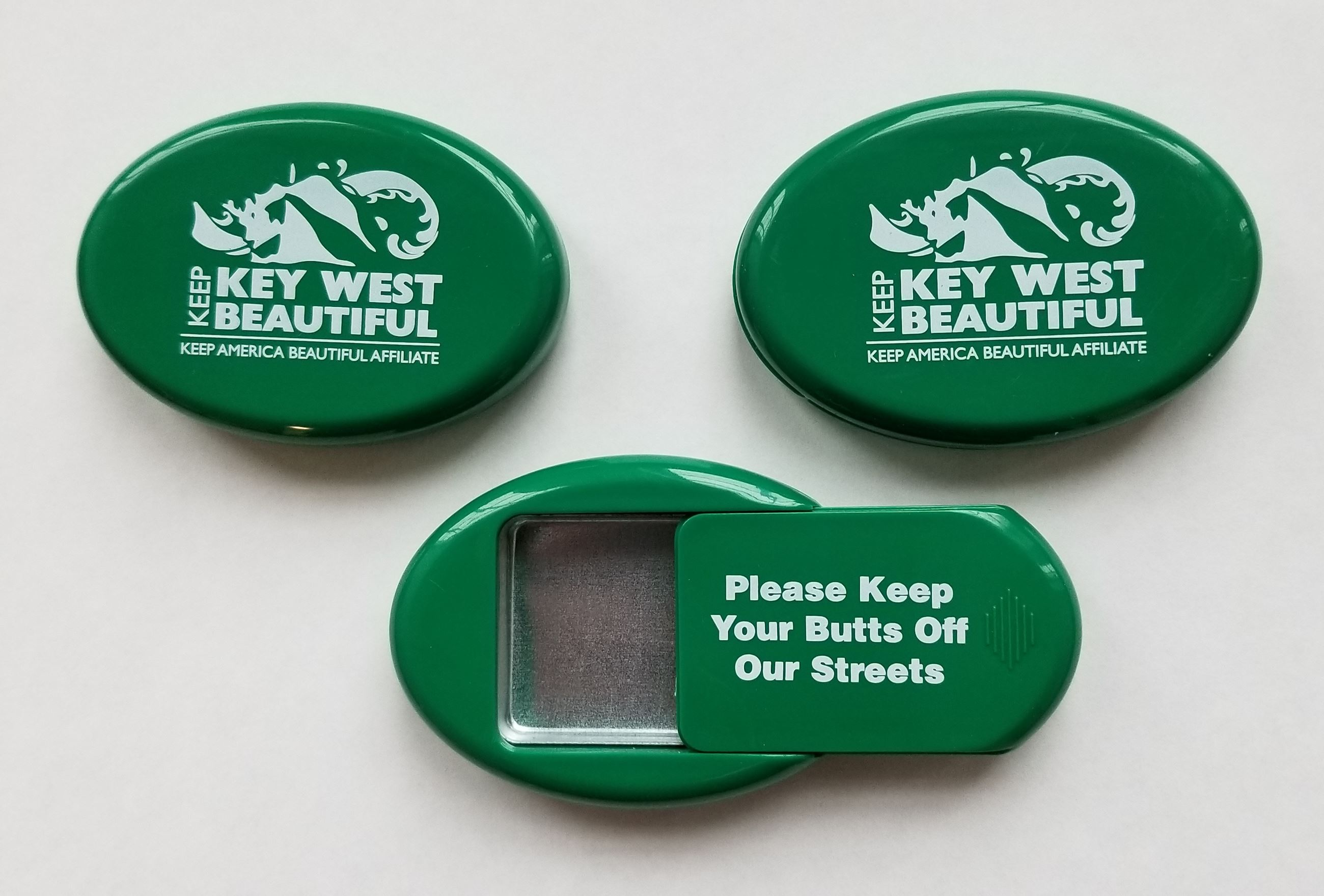 Keep Key West Beautiful Cigarette Butt Holder