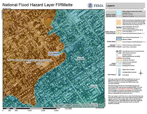 National Flood Hazard layer FIRMette Map Opens in new window